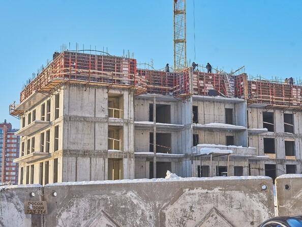 Фото Жилой комплекс НИЖНЯЯ ЛИСИХА-3, б/с 11-13, Ход строительства 9 января 2018