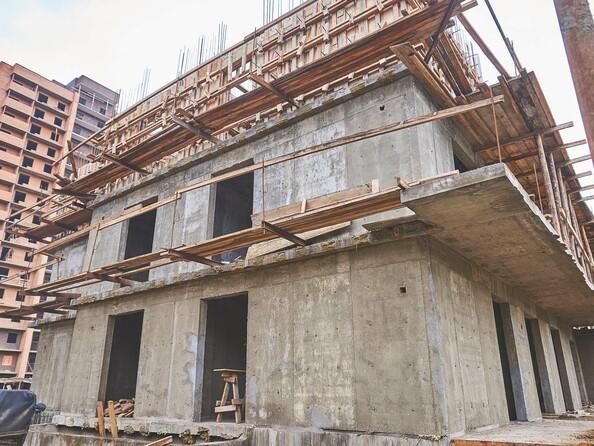 Фото Жилой комплекс ЯКОБИ-ПАРК, 2 оч, б/с 4, Ход строительства 4 сентября 2017