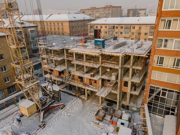 Ход строительства 26 января 2021