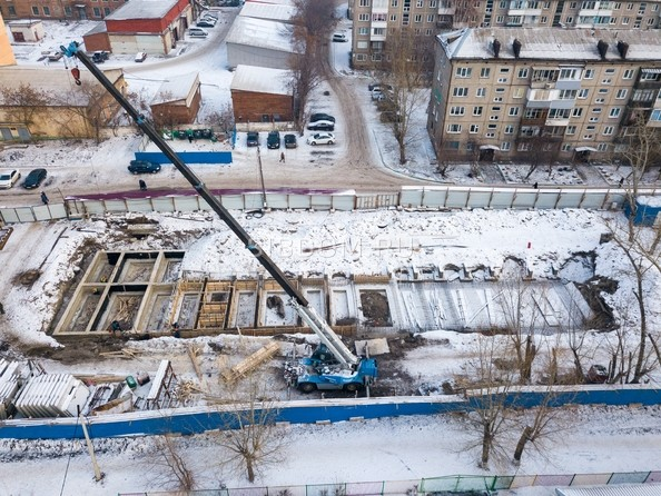 Фото КОЛИБРИ , Ход строительства 11 декабря 2018