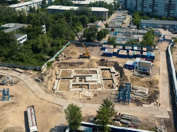 Фото Жилой комплекс SCANDIS (Скандис), дом 7, Ход строительства 25 июня 2018