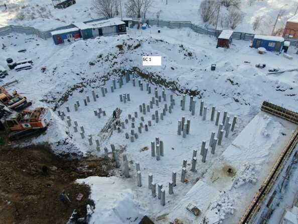 Ход строительства 5 февраля 2021