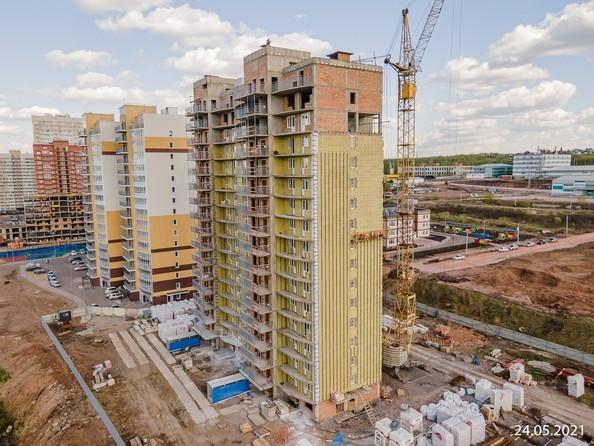 Фото строительства Родники 6, май 2021