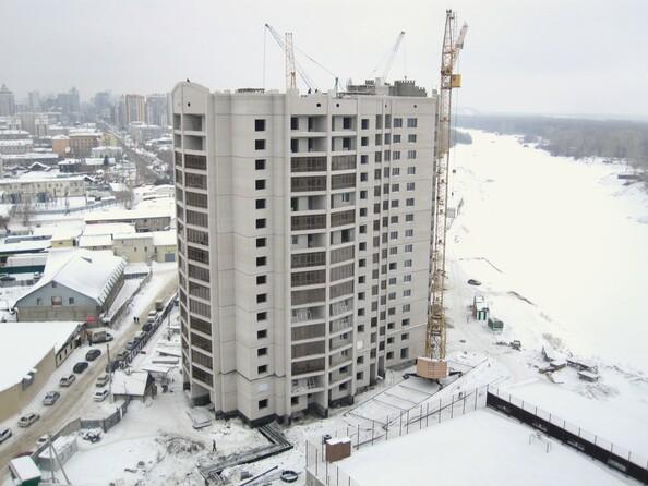 Фото Жилой комплекс НОВАЯ ПРИСТАНЬ, дом 4, Ход строительства январь 2019