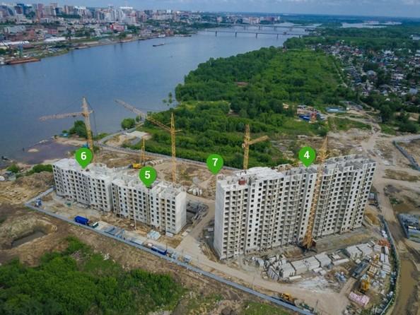 Фото Жилой комплекс ВЕНЕЦИЯ-2, дом 5, Ход строительства июнь 2018