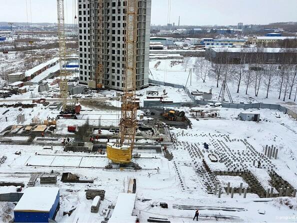Фото Жилой комплекс ВЕРХНИЙ БУЛЬВАР, 7 дом, б/с а,б,в, Ход строительства ноябрь 2018