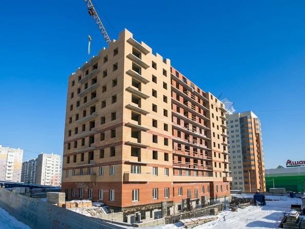 Фото Жилой комплекс Мужества, 12 , Ход строительства 21 февраля 2018