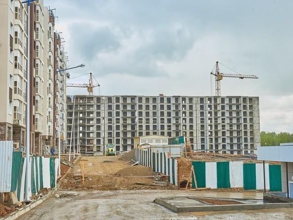Фото Жилой комплекс СИМВОЛ, 3 очередь, б/с 12,13, Ход строительства 30 мая 2018