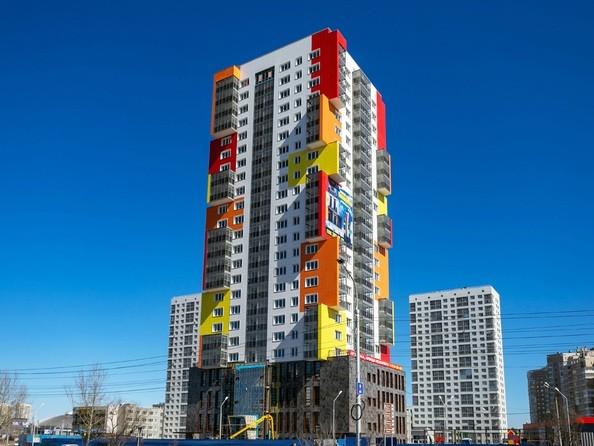 Фото Жилой комплекс АКВАРЕЛЬ, Ход строительства 14 апреля 2019