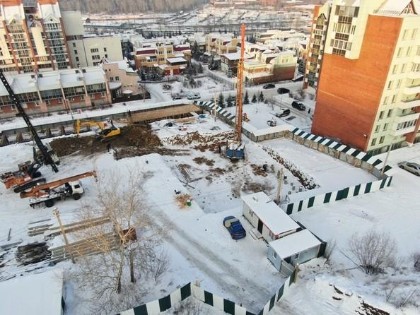 Ход строительства 5 января 2021