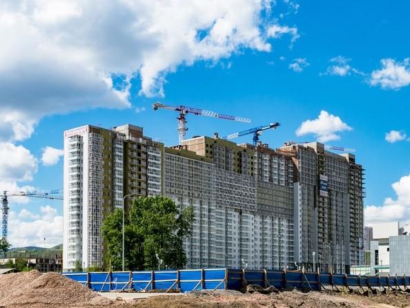 Фото Жилой комплекс ТИХИЕ ЗОРИ, дом 1 (Красстрой), Ход строительства 15 июня 2018