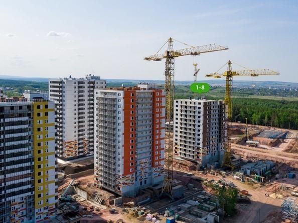 Фото Жилой комплекс ЛЕСНОЙ МАССИВ, дом 1, стр 8, Ход строительства 9 июня 2019
