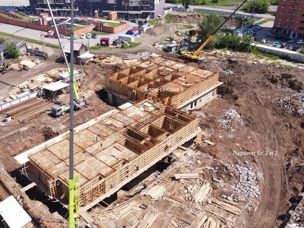 Ход строительства 5 июля 2021