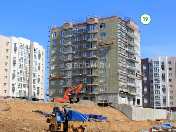 Ход строительства 9 сентября 2019