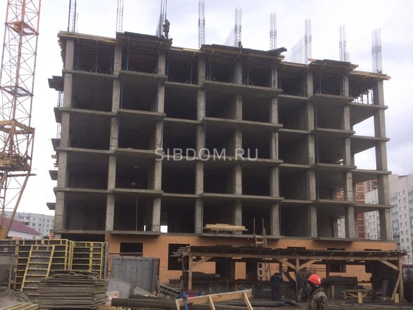 Ход строительства 21 марта 2019