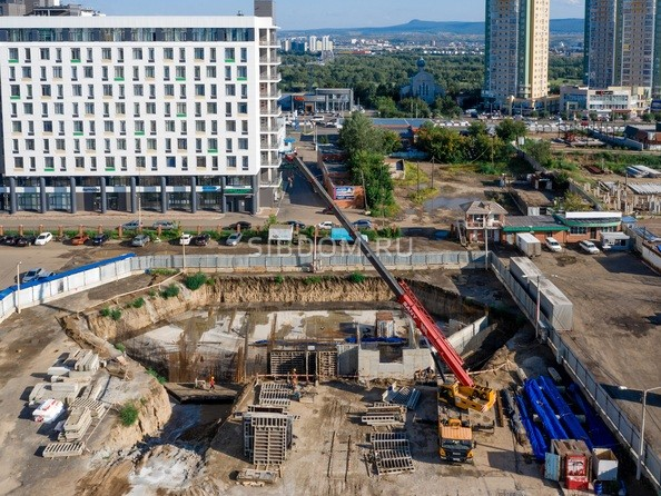 Фото Жилой комплекс НОВАЯ ПАНОРАМА , дом 4, Ход строительства 27 августа 2019
