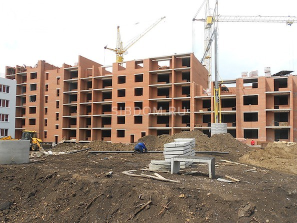 Фото Жилой комплекс ТОМЬ, дом 15, корпус 2, Ход строительства июль 2019