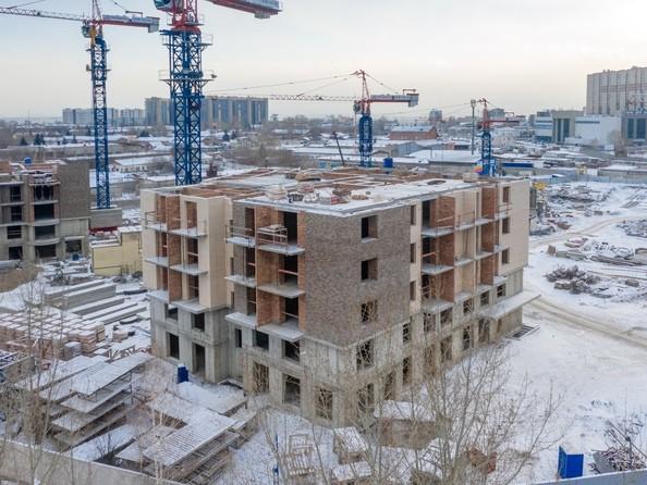 Ход строительства 2 января 2021