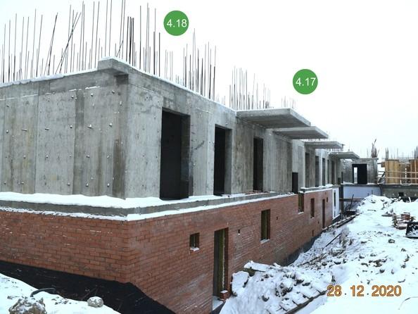 Ход строительства 4 января 2021