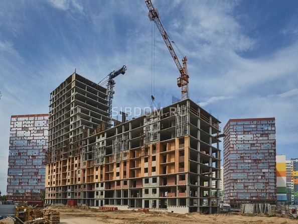 Фото Жилой комплекс ЯСНЫЙ БЕРЕГ, дом 10, б/с 1-3 , Ход строительства 30 мая 2019