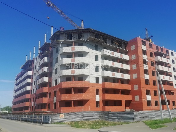 Фото Микрорайон СОЗВЕЗДИЕ, дом 5, Ход строительства май 2019