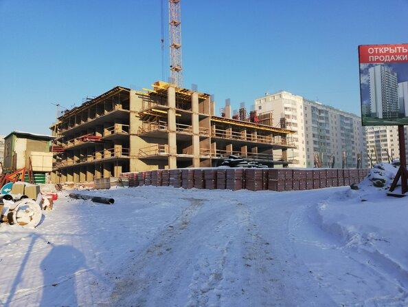 Ход строительства 31 декабря 2018