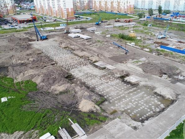 Фото Жилой комплекс ЧИСТАЯ СЛОБОДА, дом 32, Ход строительства июль 2018