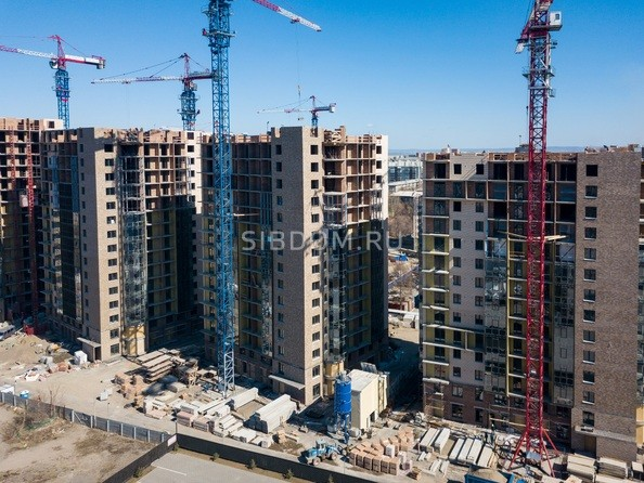 Фото Микрорайон SCANDIS (Скандис), дом 2, Ход строительства 14 апреля 2019