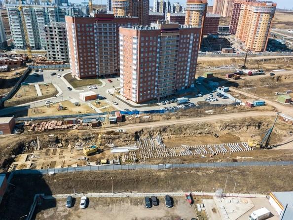 Фото Жилой комплекс СНЕГИРИ, дом 7, Ход строительства 24 апреля 2018