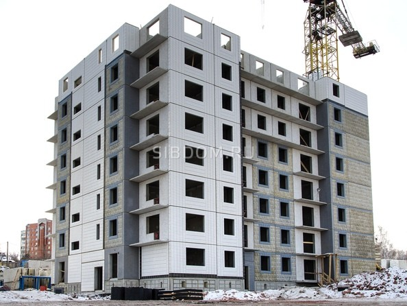 Фото Жилой комплекс КУРЧАТОВА, дом 8, стр 2, Ход строительства 16 февраля 2019