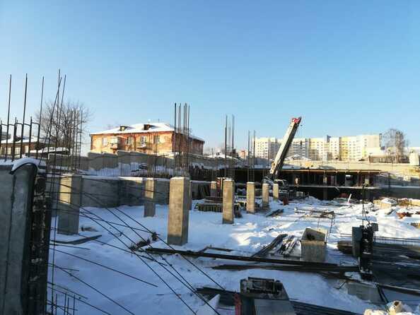 Фото Жилой комплекс ДИМИТРОВСКИЕ ГОРКИ, пер. Ядринцева, 95, Ход строительства январь 2019