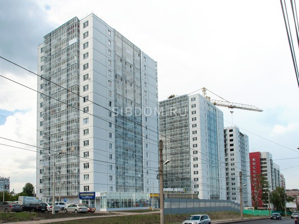 Фото Жилой комплекс НОВОНИКОЛАЕВСКИЙ, дом 2, стр 1, Ход строительства 11 июня 2018