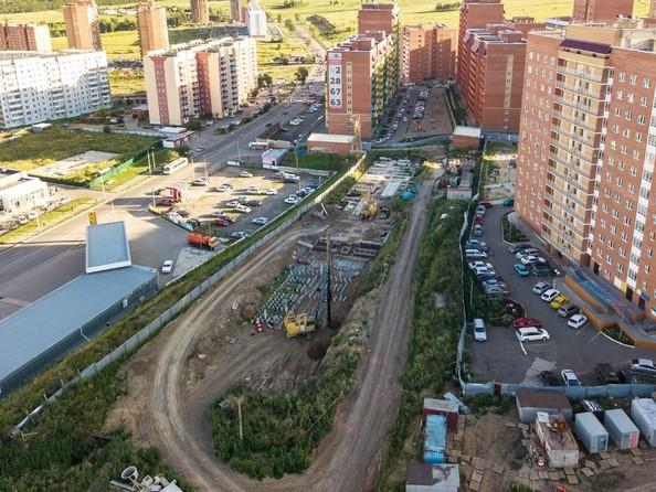 Фото Жилой комплекс СНЕГИРИ, дом 7, Ход строительства 10 августа 2018
