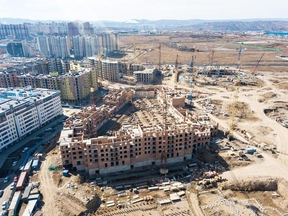 Фото Жилой комплекс ПРЕОБРАЖЕНСКИЙ, дом 4, Ход строительства 14 апреля 2019