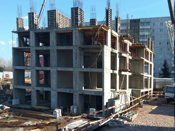 Фото Жилой комплекс FUSION (Фьюжн), Ход строительства 30 апреля 2019