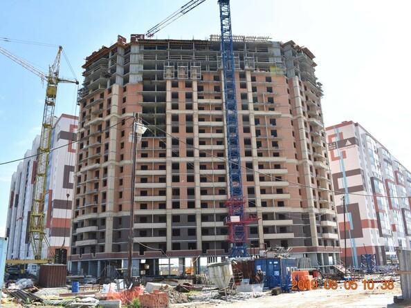 Фото Жилой комплекс ПРИОЗЕРНЫЙ, дом 2, Ход строительства июнь 2019