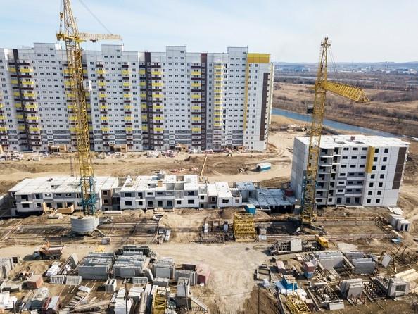 Фото Жилой комплекс Иннокентьевский, 3 мкр, дом 2, Ход строительства 7 апреля 2019