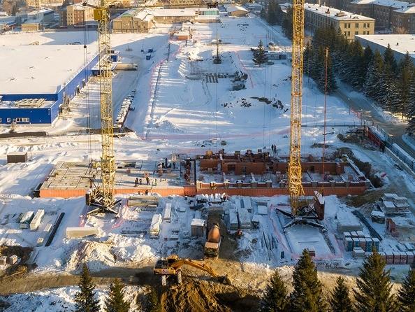 Фото Жилой комплекс КРАСНЫЙ ПРОСПЕКТ, дом 2, Ход строительства декабрь 2018