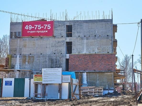 Фото Жилой комплекс СЕМЬЯ, 1 оч, Ход строительства 22 апреля 2019