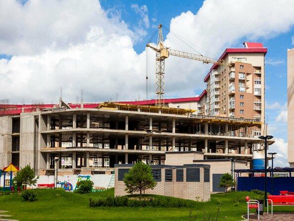 Фото Жилой комплекс Офисно-деловой центр БИЗНЕС ПОРТ, SKY SEVEN, Ход строительства Июль 2017