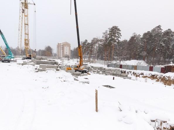 Фото Жилой комплекс ПАРКОВЫЙ, Б/С 4,5, Ход строительства 10 ноября 2018