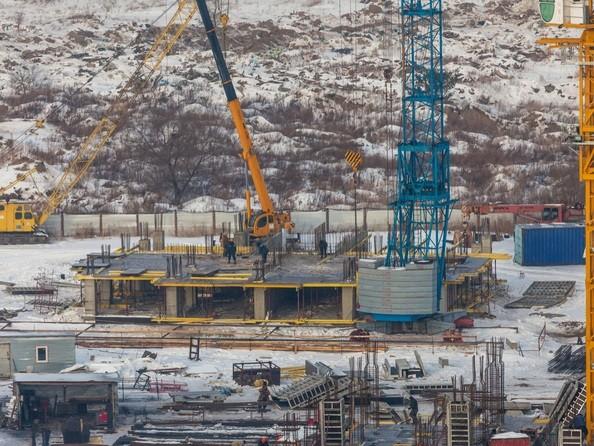 Фото КВАДРО, дом 1, Ход строительства 12 декабря 2016