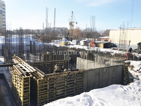 Ход строительства февраль 2019