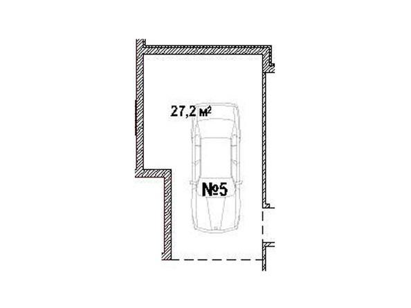Парковка 27.2 кв.м