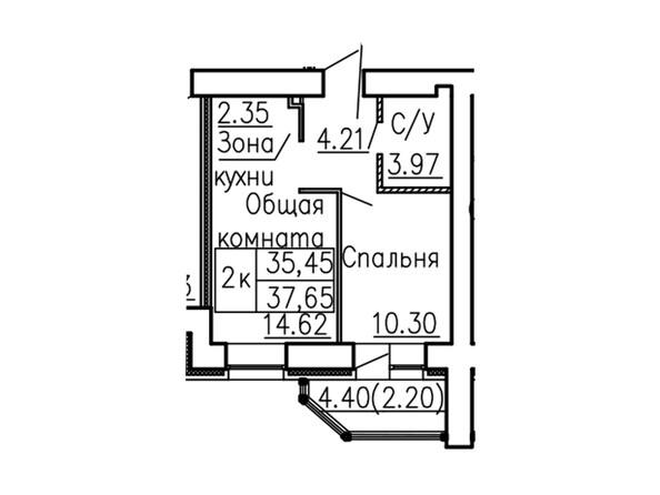 Планировки Жилой комплекс НЕВСКИЙ 2 КВР, 6 дом