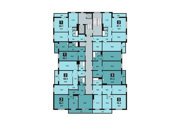 10-16 этаж