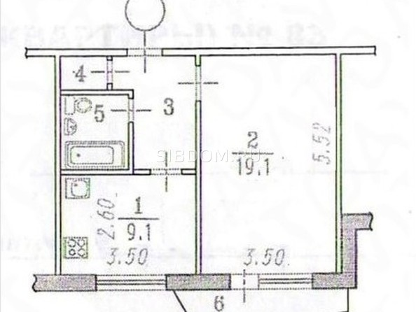 Продам 1-комнатную, 39 м², Заозерная ул, 15/2. Фото 12.